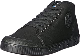 Spring Court Men's B2N-1003 Canvas Trainers, Black