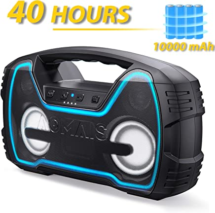 Bluetooth Speakers, AOMAIS Portable Outdoor Wireless...