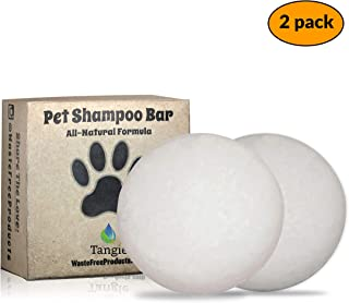 Tangie Pet Shampoo Bar Soap   Eco – Friendly Vegan Organic Dog Soap  Soap for Dry, Itchy or Sensitive Skin, Easier to Use   for Pet Lovers