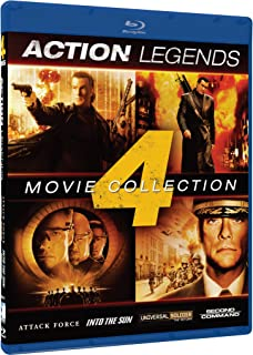 Action Legends: 4 Movie Collection (Attack Force / Into the Sun / Universal Soldier: The Return / Second in Command) [Blu-...