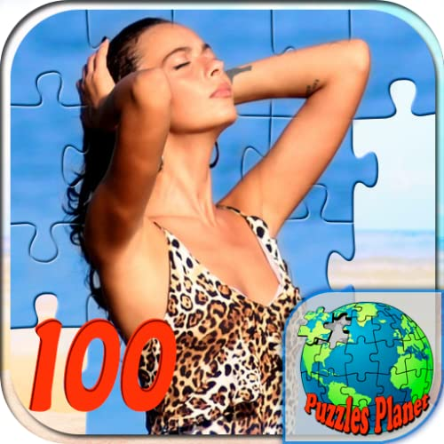 Puzzles for adults 16 (100 details)