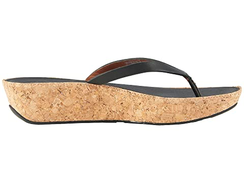 FitFlop Linny Toe Thong Sandals Black For Nice Sale Online 645y7