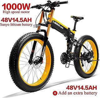 Lankeleisi 750plus 48v14.5ah 1000w motore bicicletta elettrica full-optional