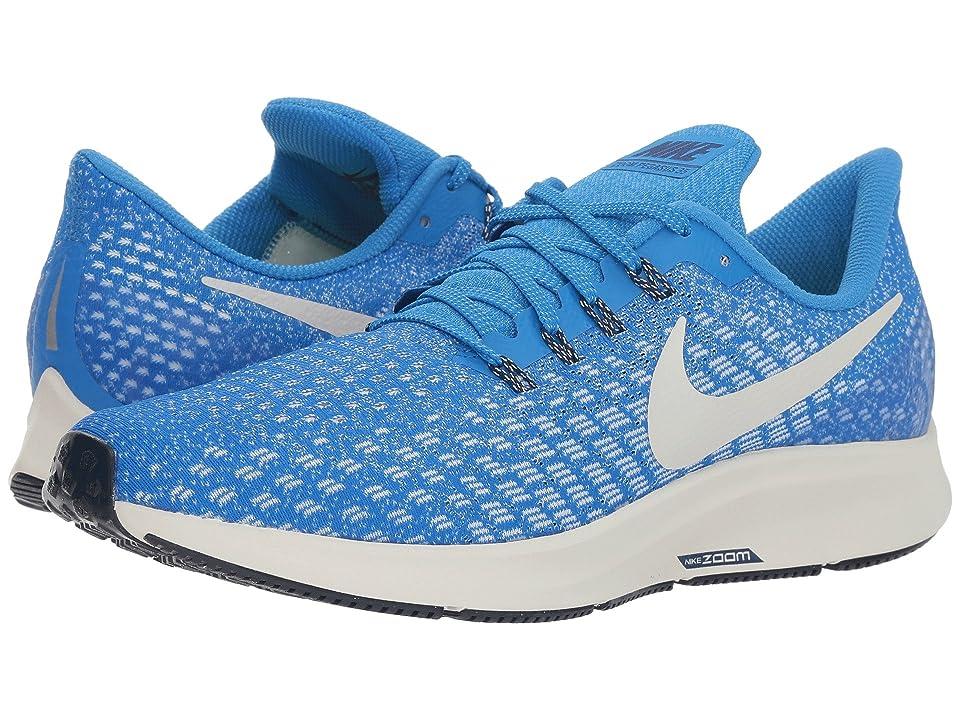 Nike Air Zoom Pegasus 35 (Cobalt Blaze/Light Bone/Sail/Blue Void) Men