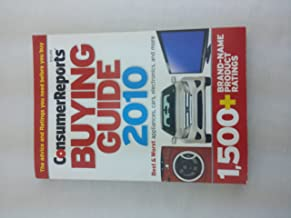 Consumer Reports Buying Guide 2010