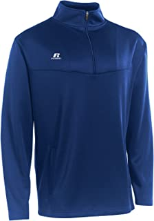 Russell Athletic Men's 1/4 Zip Pullover Navy S