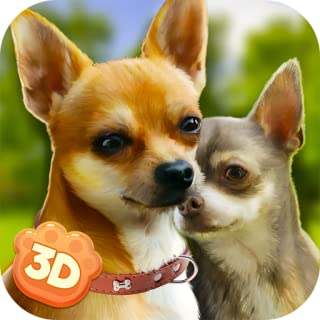 Chihuahua Dogs Simulator 3D: Clan of Dogs Animal Dash   Lovely Pets Dog Simulator Puppy Craft Breeding Game