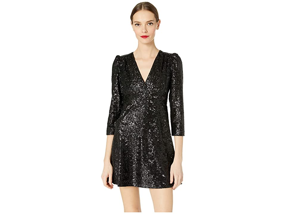 d64d0c5a Kate Spade New York Glitzy Ritzy Sequin Dress (Black) Women