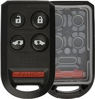 KeylessOption Just the Case Keyless Entry Remote Key Fob Shell