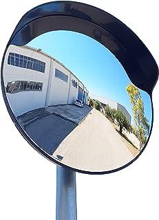 ECM-60-B2-o Espejo de seguridad, convexo, de color negro, de