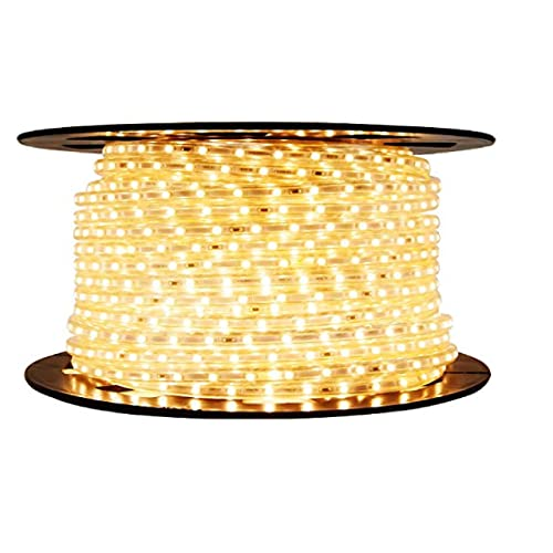D'Mak Water Proof 85 METER LED Rope Light Color: Warm White with Adapter - | warm white rope light | | pop rope led lights ceiling |
