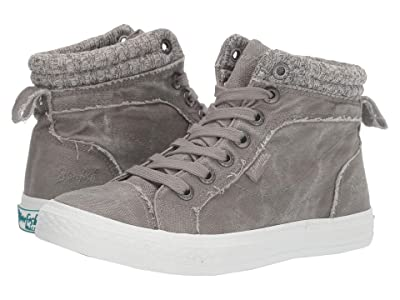 Blowfish Khloe (Wolf Grey Smoke 16 oz Canvas/Off-Grey Bobsled Knit) Women