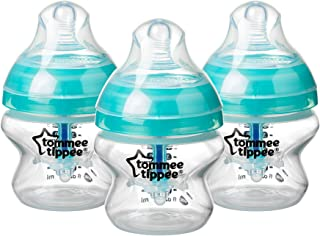 Tommee Tippee Advanced Anti-Colic Baby Bottles, 150 ml, 3 count