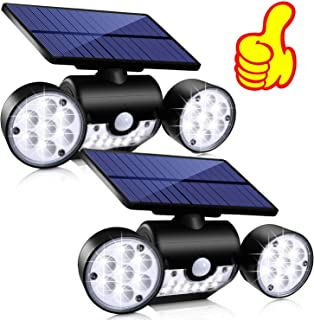 Topmante Solar Motion Sensor Lights Outdoor Lighting, 30 LED IP65 Waterproof 360°..