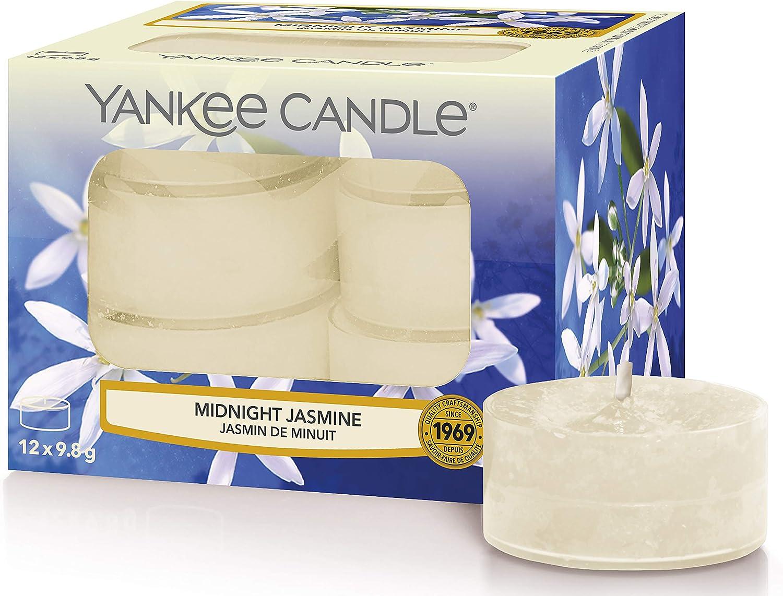 Yankee Candle Midnight Jasmine Tealight store Light Candles Max 58% OFF Tea x12