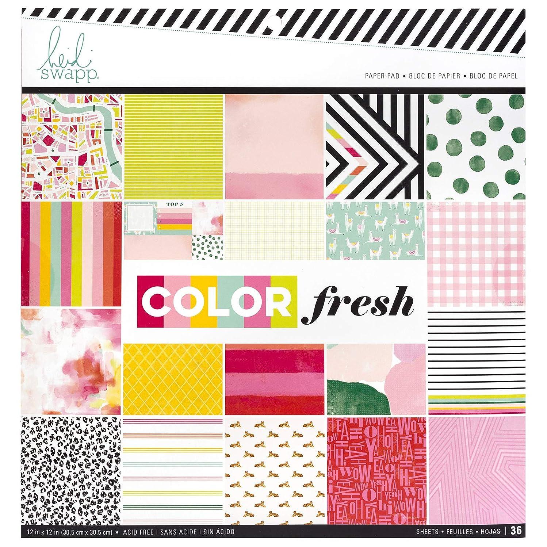 Heidi Swapp 314554 Pad Paper, Multi