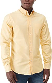 Charles Wilson Men's Long Sleeve Oxford Casual Shirt