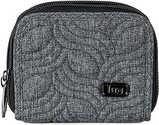 Lug Women's Splits Compact Wallet, Heather Grey
