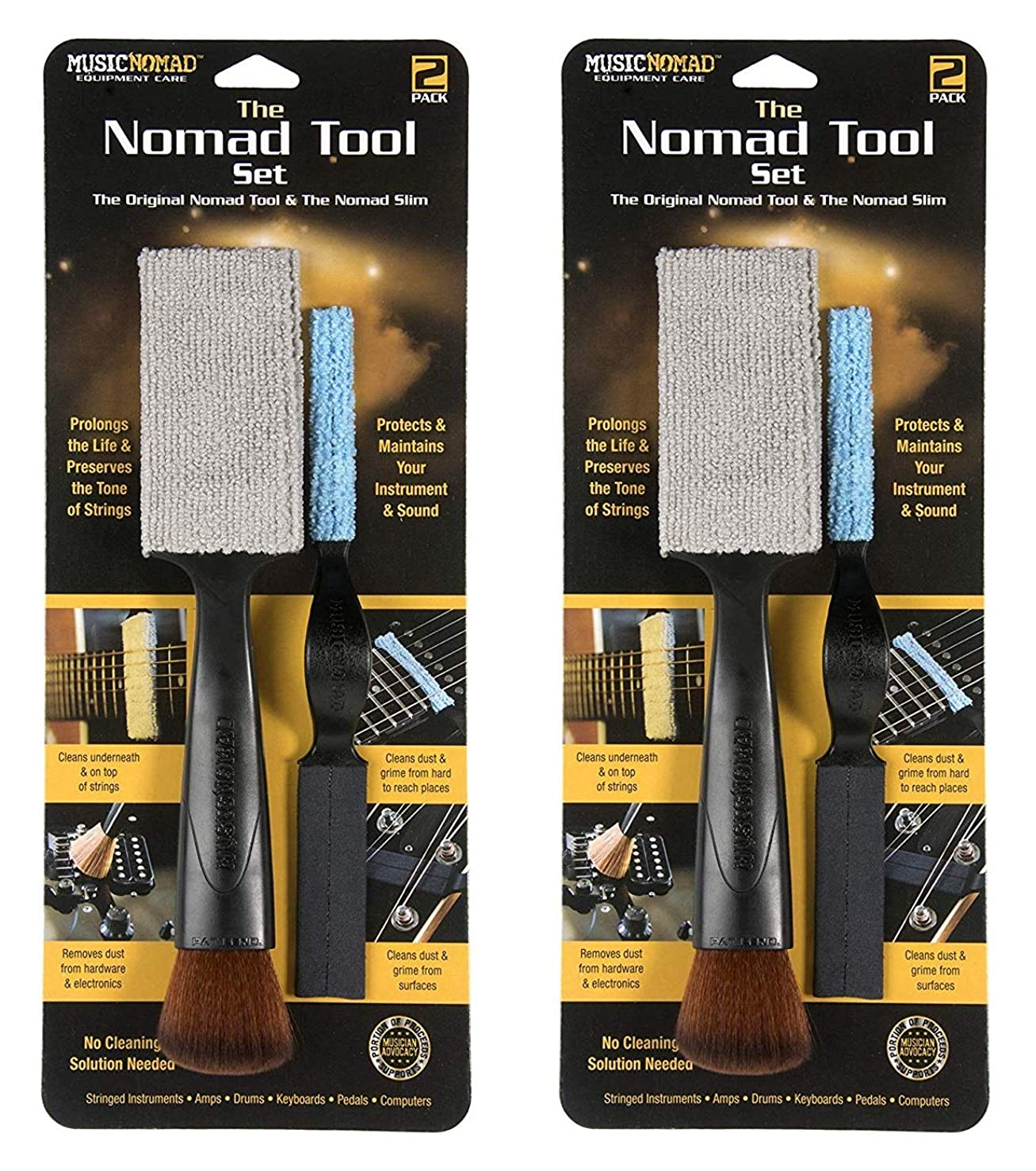 The Nomad Tool Set - The Original Nomad Tool & The Nomad Slim (Тwо Расk)