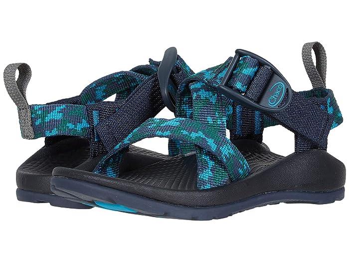 Chaco Kids  Z1 Ecotread (Toddler/Little Kid/Big Kid) (Anticamo Navy) Kids Shoes