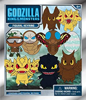 Godzilla: King of The Monsters - 3D Foam Collectible Bag Clip in Blind Bag, Multi Color