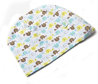 Tortle Repositioning Beanie - FDA cleared to Prevent and Treat Flat Head Syndrome - Baby Elephant - SM