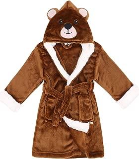 Image of Brown Bear Animal Robe for Boys - Soft and Plush