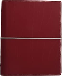 Filofax Domino Personal Organiser Elastic Closure for Refills A5 Red Ref 27872