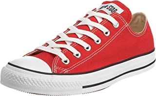 Chuck Taylor All Star Low Top Shoe Red 6.5 M US Women / 4.5 M US Men
