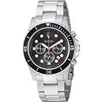 Bulova 98B326 Men's Stainless Steel Chronograph Dress Watch