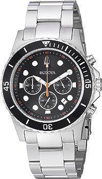 Bulova Men's Stainless Steel Chronograph Dress Watch
