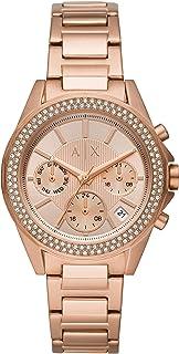ARMANI EXCHANGE Women's Quartz Watch analog Display and Stainless Steel Strap, AX5652