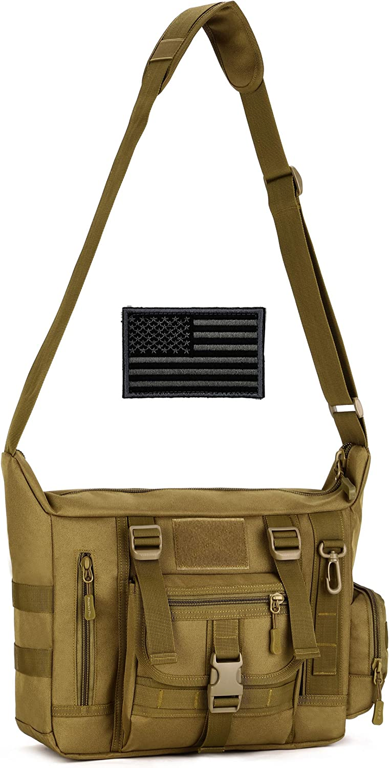 Max 89% OFF Protector Plus Tactical Messenger Bag Recommendation S Sling Military MOLLE Men