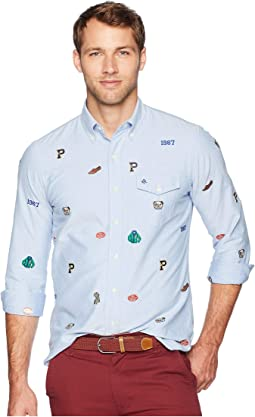 Classic Fit Embroidered Oxford Shirt