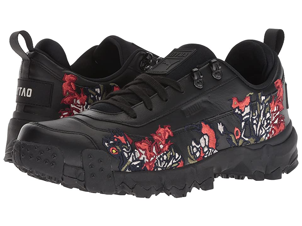 PUMA Puma x Outlaw Moscow Trailfox Graphic Sneaker (PUMA Black) Shoes