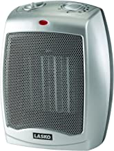 Lasko 754200 Ceramic Portable Space Heater with Adjustable Thermostat - Perfect For the Home or Home Office