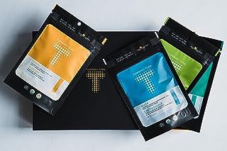 Turmeric Teas Gift Box – All 4 Flavors of Organic, Anti-inflammatory, Immunity Boosting, Healing Loose Leaf Teas - Non-GMO...