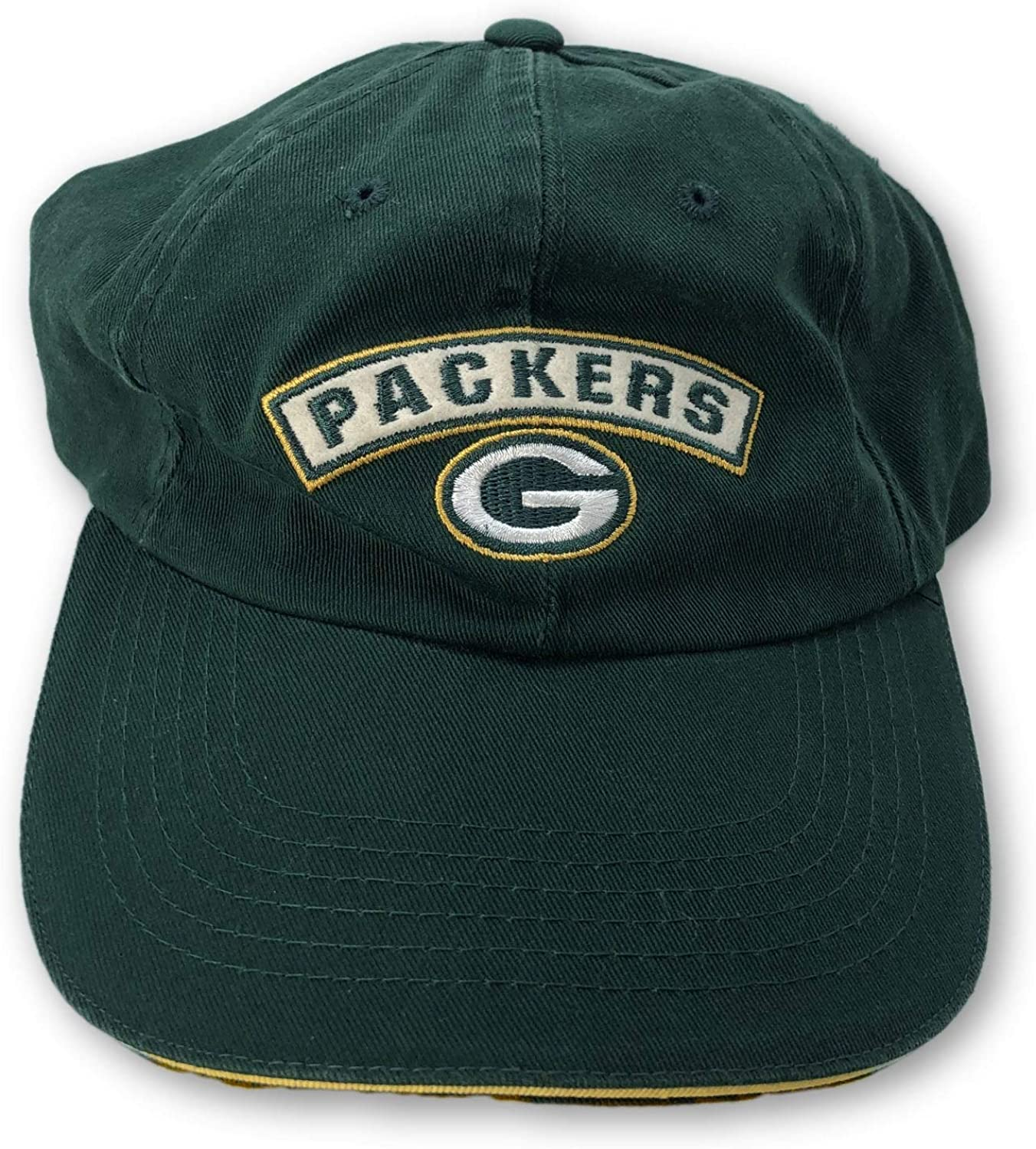 American Needle Green Bay Packers Vintage Adjustable Hat Green