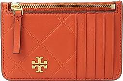 Tory Burch - Georgia Top-Zip Card Case