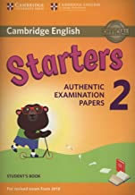 Cambridge English Young Learners 2 for Revised Exam from 2018 Starters Student's Book (Cambridge Young Learners Engli)