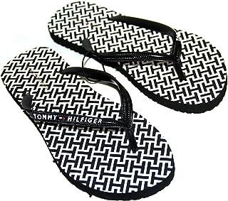 حذاء كارما للسيدات من تومي هيلفيغر، شباشب / شباب، أسود