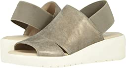Pewter Metallic Indian Suede