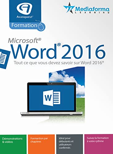 Formation à Word 2016 [Téléchargement]
