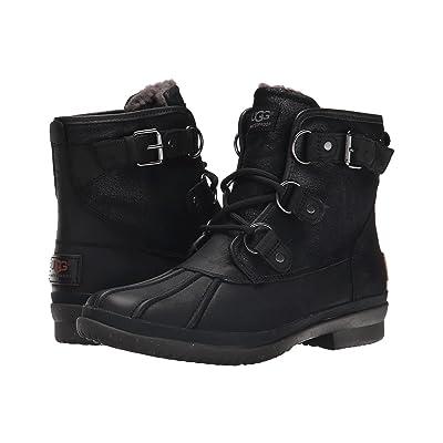 UGG Cecile (Black Leather) Women