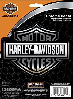 Chroma Graphics Harley Davidson Classic Emblemz Decal