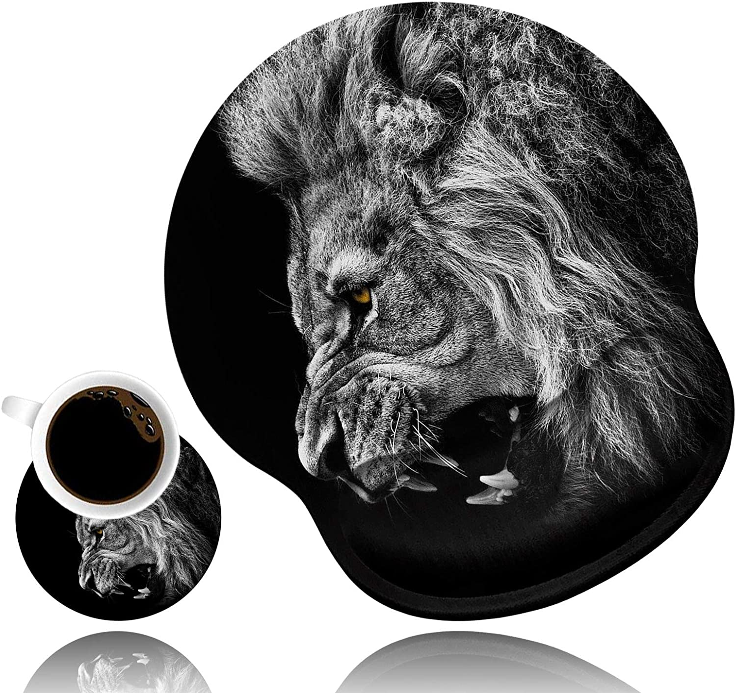 LACOMA Ergonomic Mouse Pad famous Wrist Coffee Cut Support and Popular product Coaster