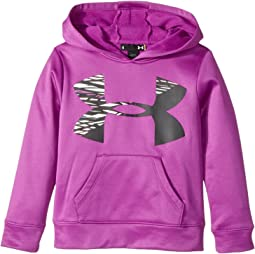 Under Armour Kids - Rush Big Logo Hoodie (Little Kids)