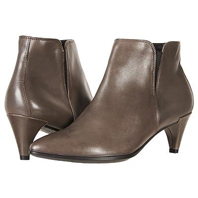 ECCO Shape 45 Sleek Ankle Boot (Stone Calf Leather) Women