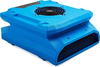 MOUNTO 1/4hp 1200CFM Low Profile Air Mover Floor Carpet Dryers Restoration