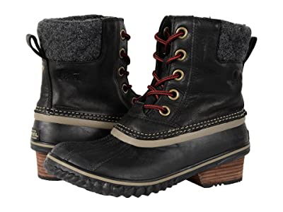 SOREL Slimpack II Lace (Black) Women